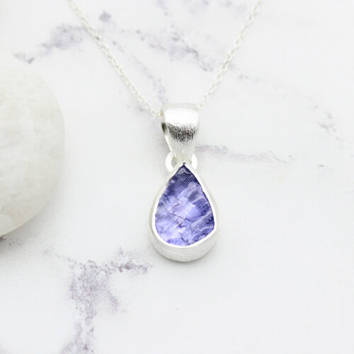 Tanzanite Gemstone Handmade Sterling Silver Pendant