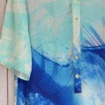 Cassia Dress in Blue Ocean