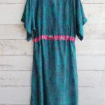 Jacinda Recycled Silk Sari Print Dress J13