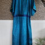 Jacinda Recycled Silk Sari Print Dress J25
