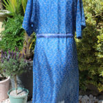 Jacinda Recycled Silk Sari Print Dress J9