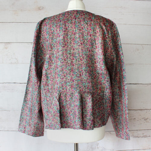 Hana Silk Kantha Hand Stitched Ladies Jacket 36